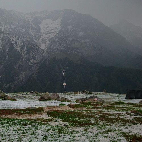 DhaulaDhar range from triund Dhauladhar Range Triund Mcleodganj Snow Peaceful Place Trekking Ankitdogra