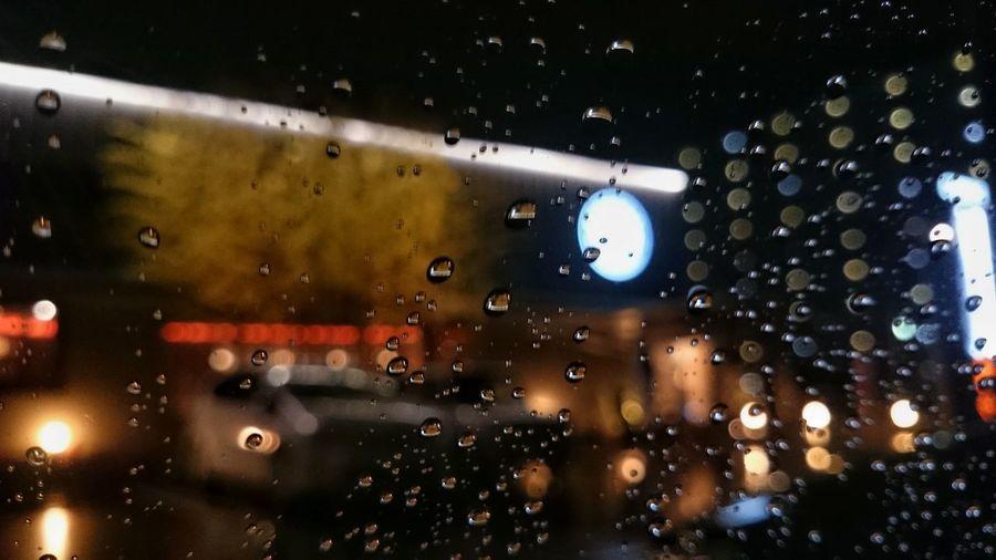 Coffee Time Rain Raindrops Winter Bokeh Bokeh Photography Car XperiaZ1
