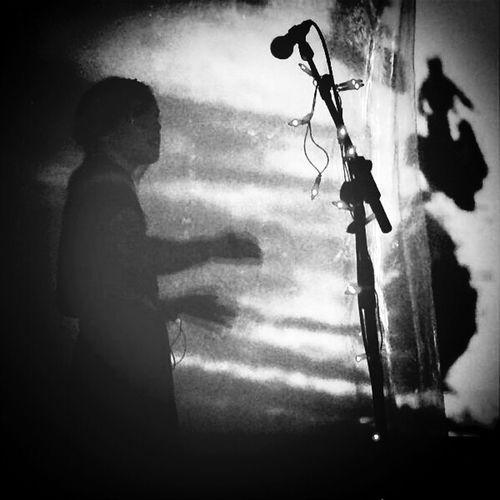 Silhouette Blackandwhite Monochrome Band