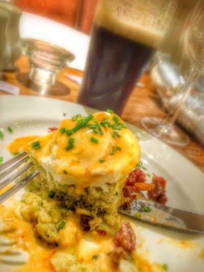 So a chorizo based bubble and squeak is just an awesome thing..... Night Out Christmas