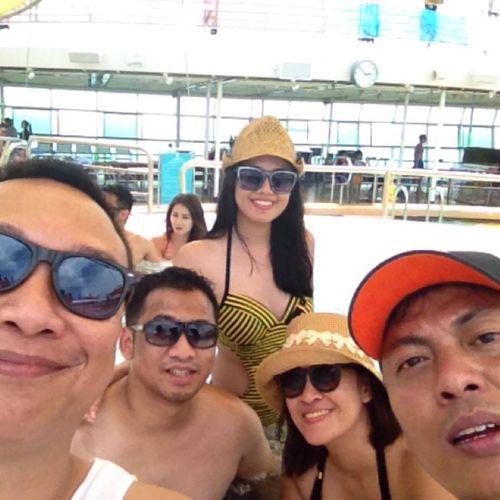 Cruising Party Pool Enjoying Life