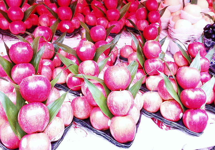 Apples, red