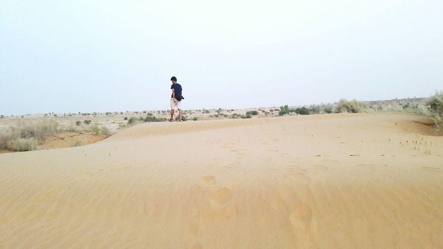 Random walk in Thar desert. First Eyeem Photo
