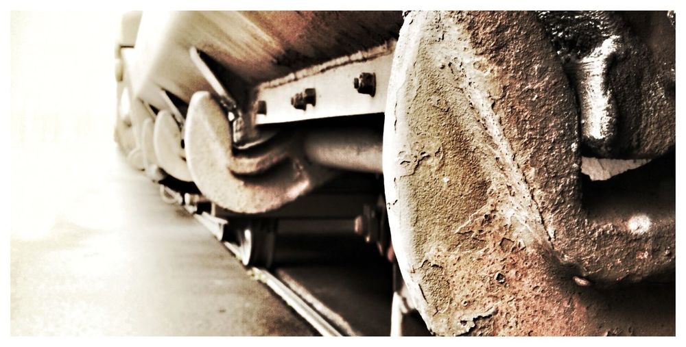 Steel Old Train Trainwagon Trein Treinen Treinwagon Corrosion