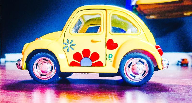 Car Yellow Car Beetle Car Love Bug Blue Wheels Check This Out Taking Photos Enjoying Life Having Fun Toys Toy Car