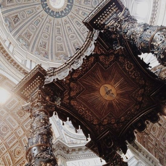 Probably my favourite one of the day. Stpeter Basilica Church Beautiful italy roma vatican