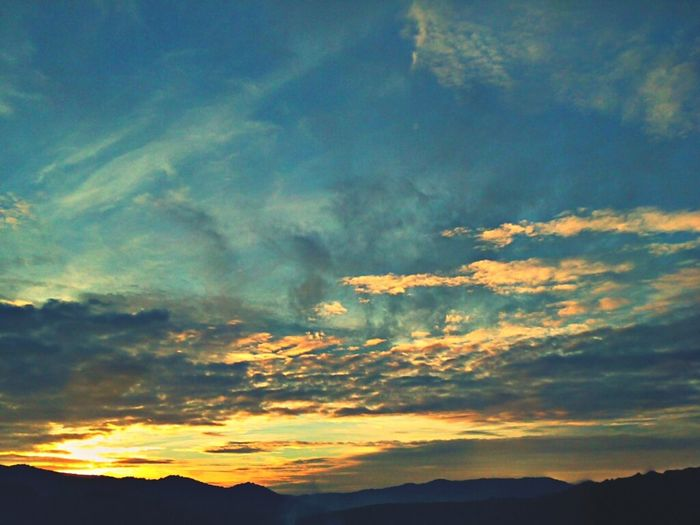 Clouds Sunset Nature Sky Landscape Catalunya Clouds And Sky Maresme Nature_collection