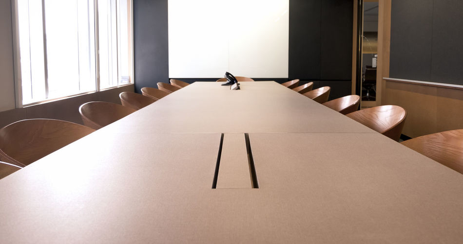 empty meeting