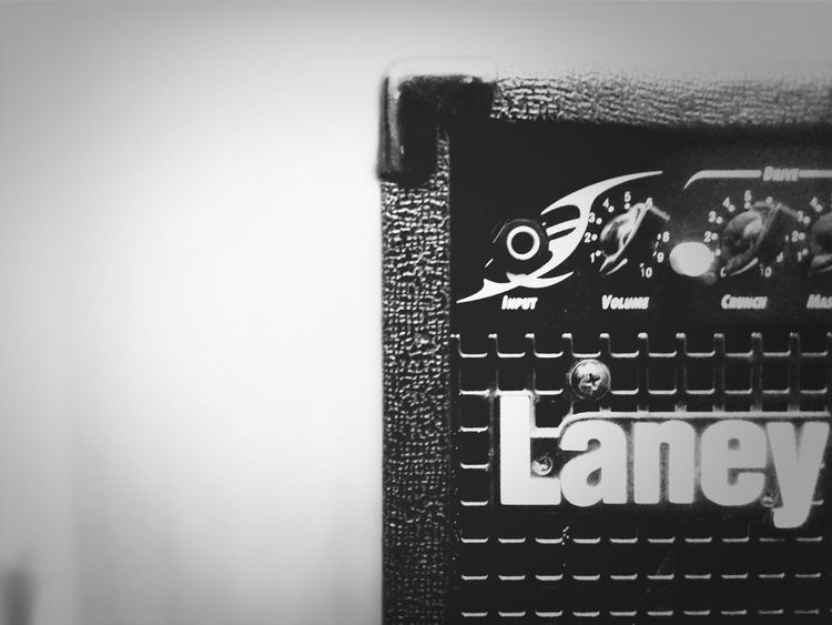 Laney Distortion Heavy Metal Making Music