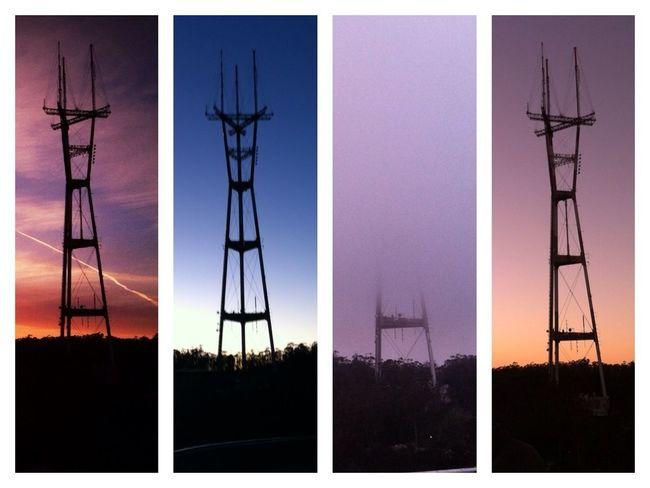 Tower Sutro Sunset Quadrofabulous Don't Be Square
