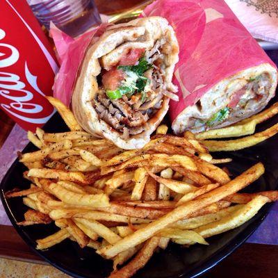 Greek fast food at Pita Pan... #TBEXathens #TBEX