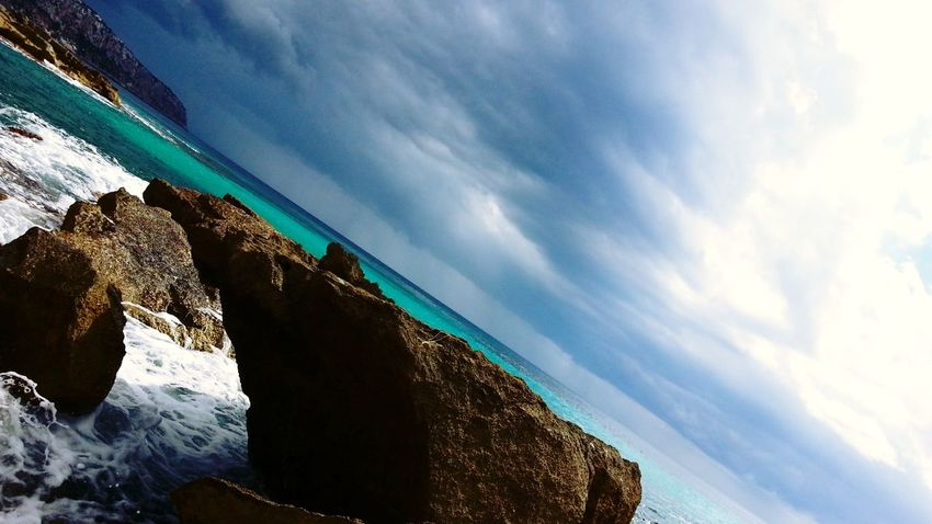 Enjoying The Sun Sea Mallorca Beach