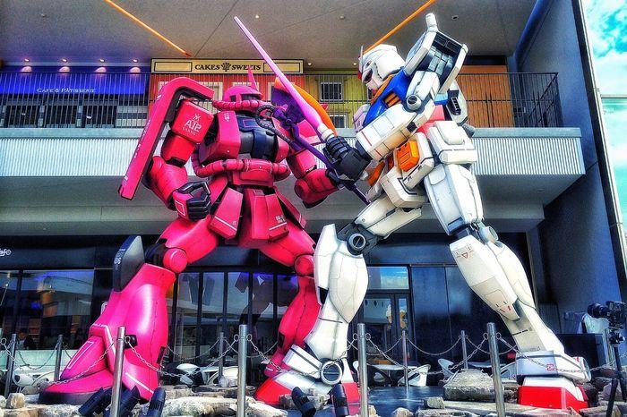 ようこそガンプラの世界へ😉👌✨✨✨ EyeEmBestPics Walking Around Gundam Zaku 赤い彗星 サボリチュウ 大阪 日帰り出張 ららぽーと EXPOCITY