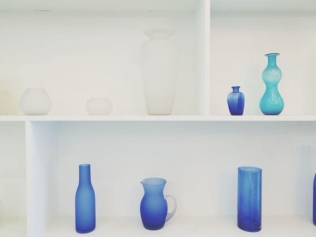 Bottle Shelf Indoors  No People Day Perfume Jar Decoration