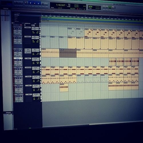 Been a minute since I opened pro tools.... shit like riding a bike LiveItBrands