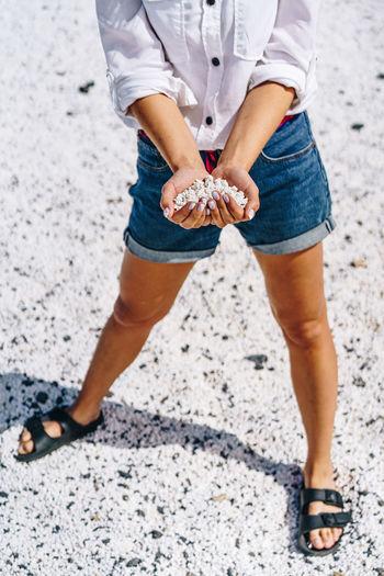 Popcorn Popcorns White Puffy Coral Shaped Stony Stones Little Tiny Small Beach Corralejo Fuerteventura Canary Islands Hand Hands Holding person Woman Girl Summer Ocean Atlantic Vibes Holidays Landscape Rocks Shore Coast SPAIN Vacation Natural Freedom Handful Travel Palms Volcanic  Elements The Traveler - 2019 EyeEm Awards