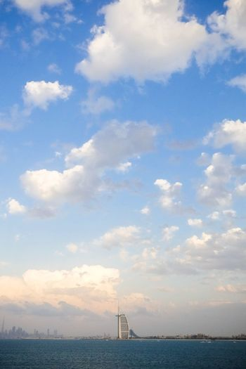 Dubai sky. No People Horizon Over Water Outdoors