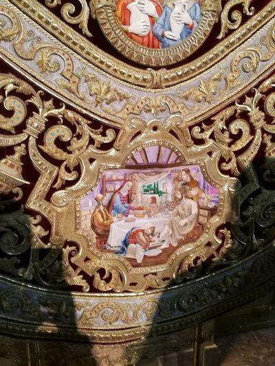 Bordados Manto Virgen De Los Estudiantes Semana Santa Sevilla Spain Sevilla Andalucía EyeEmNewHere Indoors  Pattern No People Low Angle View Close-up Day
