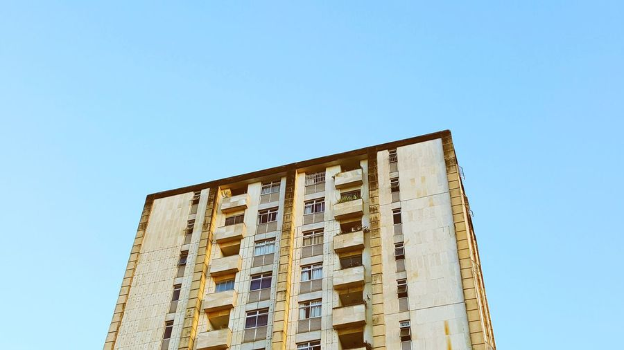 EyeEm Selects Low Angle View Architecture Built Structure Day Sky No People Clear Sky Outdoors