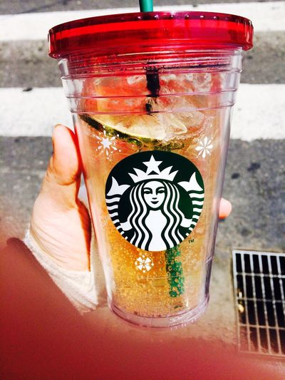 Starbucks Cool Lime Fizzio Coldcup Yammy!!  Followme Drinks IPhoneography