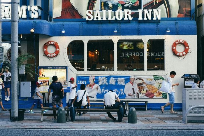 Walk This Way OKINAWA, JAPAN Enjoying Life Okinawa Travel Fuji Xpro1 Eating Time Japan