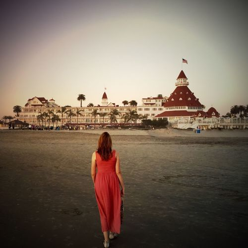A walk on the beach Relaxing Taking Photos Enjoying Life Beauty In Nature Red Sunset Beautiful Hotel Beach Hotel Del Coronado