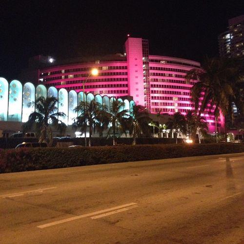 Fountainebleau. Miami beach Hello World