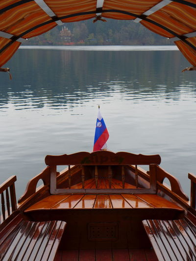 Bled Boat Bled Lake Slovenia Slovenia Slovenia Flag Flag Nautical Vessel Slovenian Boat Slovenija Water