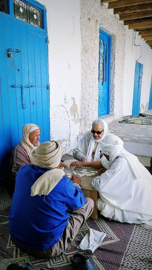 The game of life #tunisia #oldman #life Teamwork Full Length Occupation Manual Worker Women First Eyeem Photo