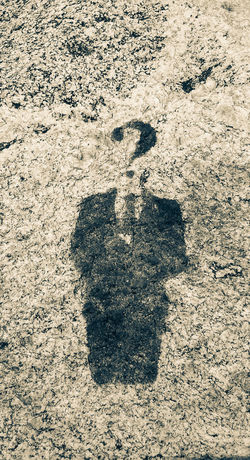 Mystery High Angle View FootPrint Identity Full Frame Directly Above Outdoors Day Nature Person Symbol Creativity No People Tranquility Internet Addiction Anonimous AnonymousSociety In Front Of Photoshop Edit