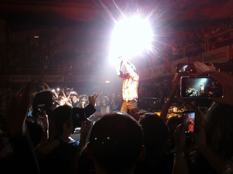Concert Jovanotti Clap Your Hands Shake