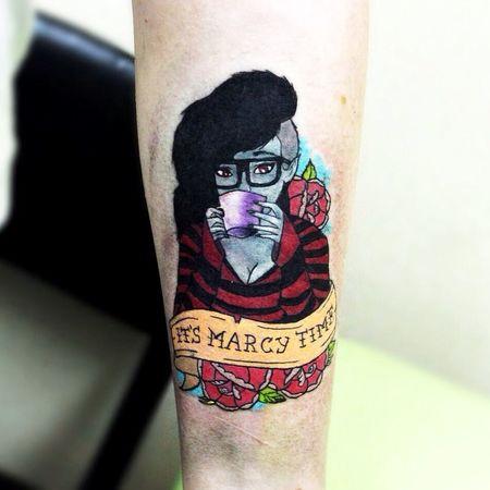 Adventure Time Marceline Tattoo Tattoos Ink Tattooed Colortattoo Время приключений Inked Tatts