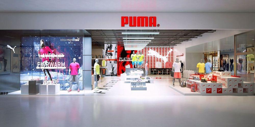 My job Vray 3d Rendering Puma Redstore Mydesign Interior Design Méo's