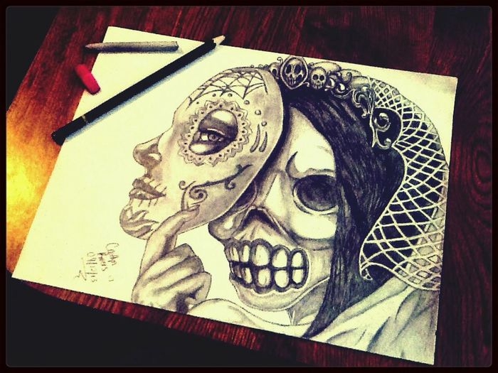 What about this skeleton Bride ?!!?(: Hahah Love it!!!:D