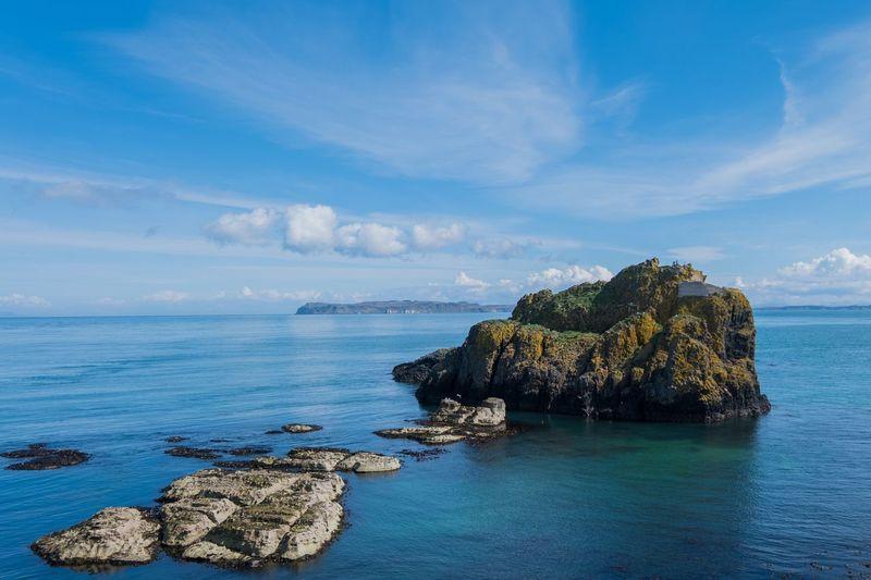 Water Sea Sky Cloud - Sky Scenics - Nature Beauty In Nature Rock