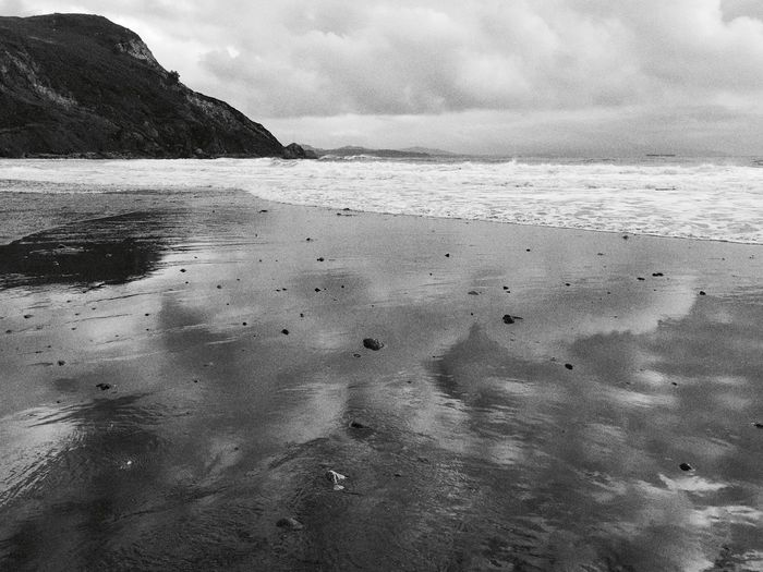 Glassy NorCal beaches Sea Water Nature Sky Beach Scenics Outdoors Tranquil Scene Beauty In Nature Tranquility No People Day Blackandwhitephotography Oceanscape Black & White Landscape Landscape Photography My Year My View Fine Art Photoghraphy Landscape #Nature #photography Beautiful ♥ Natural Beauty Finding New Frontiers Art Is Everywhere