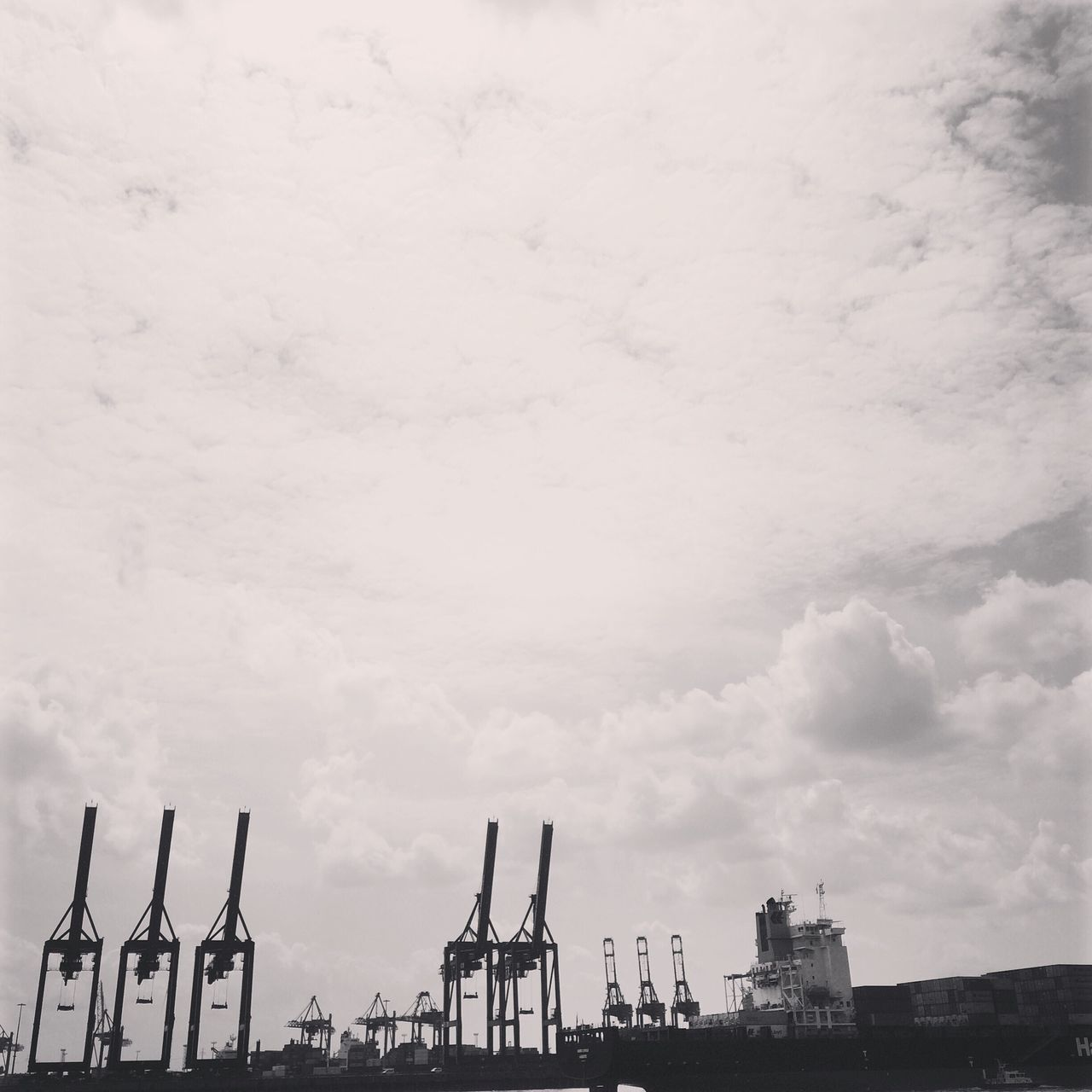 cloud - sky, sky, built structure, no people, architecture, day, outdoors, building exterior, nature, shipyard