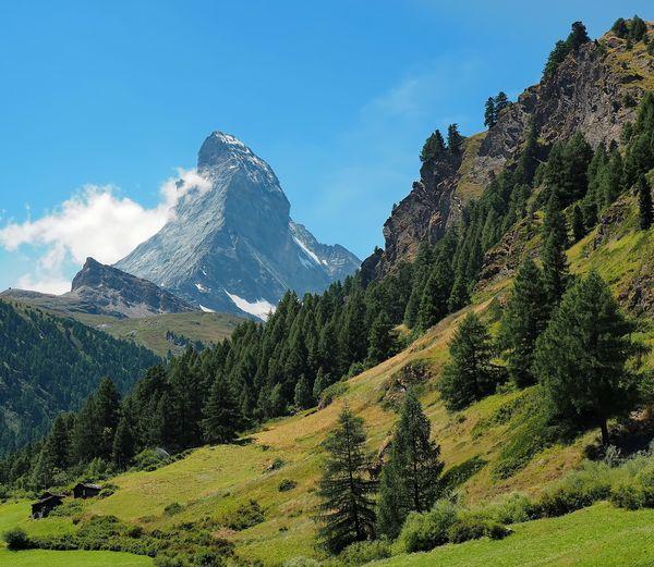 Matterhorn — enough said Matterhorn  Zermatt Switzerland Landscape Nature Mountain Hiking Swiss Alps Alps Landmark