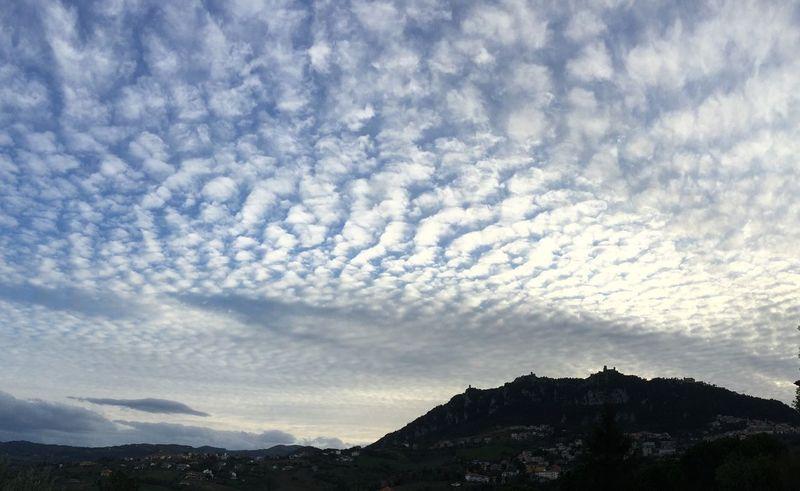 I Love My City Sanmarino Republicofsanmarino Italy Italia Montetitano Clouds