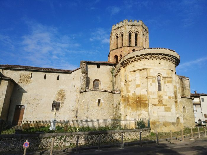 France Saint-Lizier History Sky Architecture Building Exterior Built Structure Christianity Church Cathedral Religion Spirituality