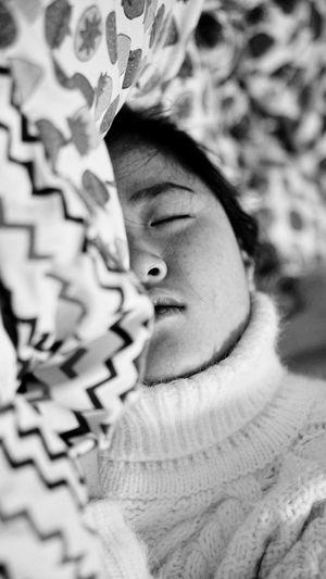 Sleep Headshot Portrait Child Childhood One Person Women Real People Lifestyles First Eyeem Photo