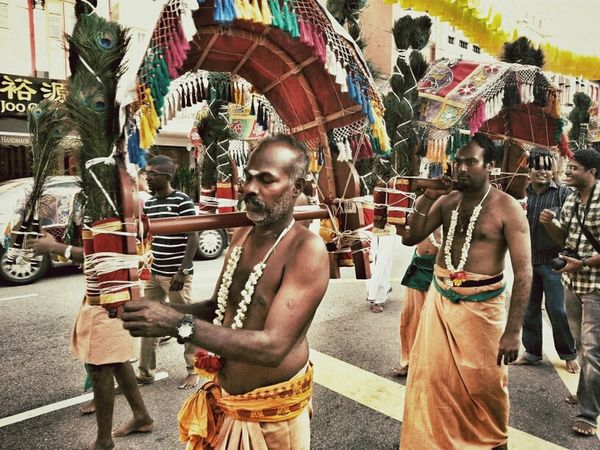 Streetphotography Thaipusam 2013