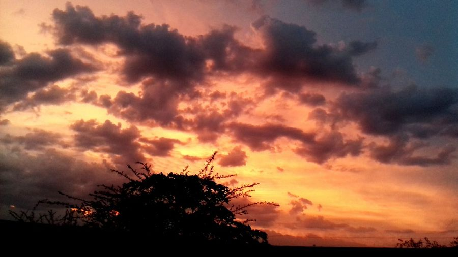 A Melhor Visão do entardecer! #Natureza #Deus Sunset Dramatic Sky Cloud - Sky First Eyeem Photo