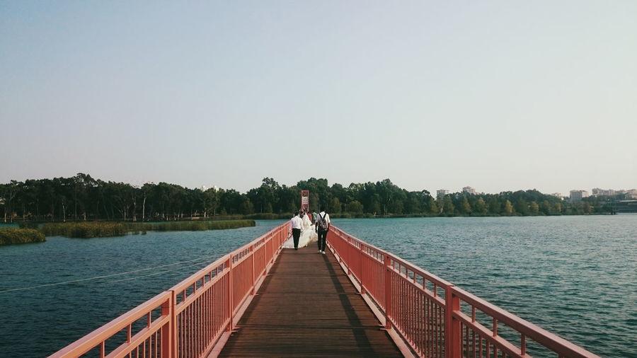 A walk on the bridge.