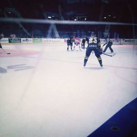 I really love this sport, there's seriously nothing I don't like about it! Ice Hockey AIK