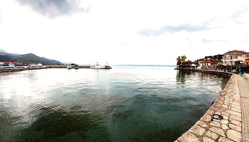 Ohrid lake in Macedonia Beautiful Nature Hello World Enjoy The View Nice Photo