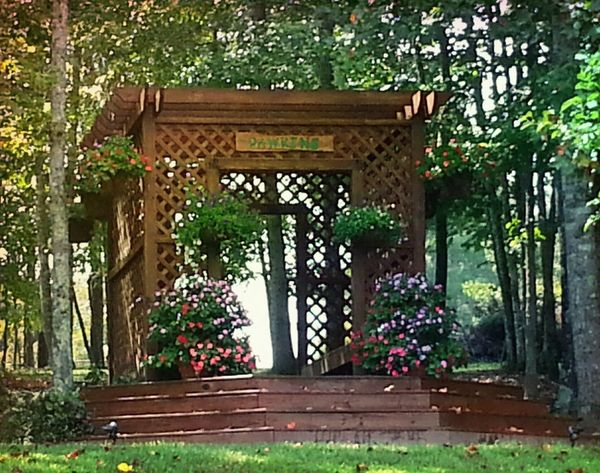 Arbor Arbor Love Flowers,Plants & Garden Check This Out