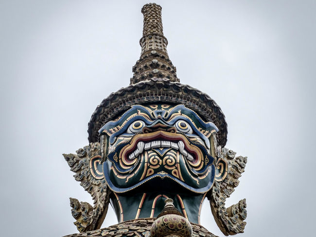 Buddhism Contrast Grand Palace Grand Palace Bangkok Thailand History Monument Place Of Worship Thai The Magic Mission