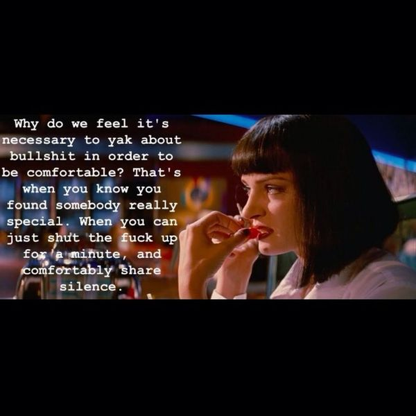 I love pulp fiction Awesome Movie