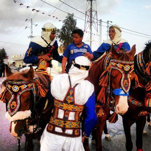 Chevaux Horses Chevaliers Knights Douz Tunisia Tunisie
